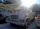 Altec AA755L-MH, Material Handling Bucket Truck, rear mounted on, 2000 International 4700 Utility Truck