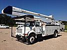 Altec AA755L-MH, Material Handling Bucket Truck, rear mounted on, 2001 International 4700 Utility Truck