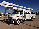 Altec AA755L-MH, Material Handling Bucket Truck, rear mounted on, 2005 Sterling Acterra Utility Truck