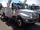 Altec AA755L-MH, Material Handling Bucket Truck rear mounted on 2008 International 4300 Utility Truck