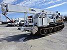 Altec AC26-95S-TRA, 26 Ton, Hydraulic Crane, rear mounted on, 2007 Laurin Inc. Soft Track ST-15T All-Terrain Track Machine
