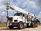 Altec AC35-127S, Hydraulic Crane rear mounted on 2007 International 5600i Tri-Axle Flatbed/Utility Truck