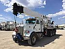 Altec AC38-127S, Hydraulic Crane rear mounted on 2012 Peterbilt 365 Tri-Axle Flatbed Truck
