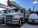 Altec AM50, Over-Center Material Handling Bucket Truck, rear mounted on, 2005 Sterling L8500 Utility Truck