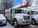 Altec AM50, Over-Center Material Handling Bucket Truck, rear mounted on, 2006 International 4400 Utility Truck