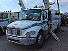 Altec AM50, Over-Center Material Handling Bucket Truck, rear mounted on, 2007 Freightliner M2 106 Utility Truck