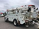 Altec AM50-MH, Material Handling Bucket Truck rear mounted on 2006 International 4400 Utility Truck