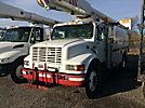 Altec AM547, Over-Center Material Handling Bucket Truck rear mounted on 1998 International 4900 Utility Truck, must be a dealer to bid on this item