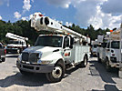 Altec AM55, Material Handling Bucket Truck, rear mounted on, 2006 International 4300 Utility Truck