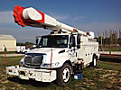Altec AM55, Over-Center Material Handling Bucket Truck, rear mounted on, 2004 International 4400 Utility Truck