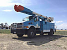 Altec AM55, Over-Center Material Handling Bucket Truck, rear mounted on, 2007 Sterling Acterra 4x4 Service Truck