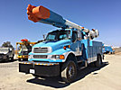 Altec AM55, Over-Center Material Handling Bucket Truck rear mounted on 2007 Sterling Acterra 4x4 Utility Truck