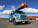 Altec AM55, Over-Center Material Handling Bucket Truck rear mounted on 2008 Sterling Acterra Utility Truck