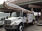 Altec AM55-MH, Material Handling Bucket Truck, center mounted on, 2003 International 4400 Utility Truck