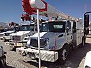 Altec AM55-MH, Material Handling Bucket Truck rear mounted on 2004 International 4400 Utility Truck