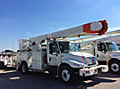 Altec AM55-MH, Over-Center Material Handling Bucket Truck, rear mounted on, 2004 International 4400 Utility Truck