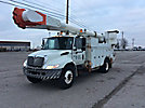 Altec AM55-MH, Over-Center Material Handling Bucket Truck, rear mounted on, 2004 International 4400 Utility Truck