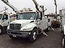 Altec AM55-MH, Over-Center Material Handling Bucket Truck, rear mounted on, 2005 International 4300 Utility Truck