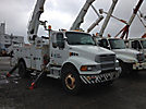 Altec AM55-MH, Over-Center Material Handling Bucket Truck, rear mounted on, 2005 Sterling M8500 Utility Truck
