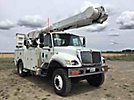 Altec AM55-MH, Over-Center Material Handling Bucket Truck, rear mounted on, 2007 International 7300 4x4 Utility Truck
