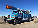 Altec AM55-MH, Over-Center Material Handling Bucket Truck, rear mounted on, 2007 Sterling Acterra T/A Utility Truck, 1761 PTO hours