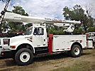 Altec AM600-H, Bucket Truck, rear mounted on, 1995 International 4800 4x4 Utility Truck, no bucket - guard structure only, non insulated