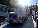 Altec AM650-MH, Over-Center Material Handling Bucket Truck, rear mounted on, 2000 Chevrolet C7500 Utility Truck