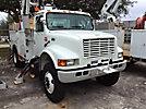 Altec AM650-MH, Over-Center Material Handling Bucket Truck, rear mounted on, 2002 International 4800 4x4 Utility Truck