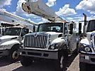 Altec AM855, Over-Center Bucket Truck rear mounted on 2008 International 7300 4x4 Utility Truck