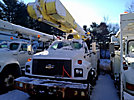 Altec AM855-MH, Over-Center Material Handling Bucket Truck, rear mounted on, 2000 Chevrolet C8500 T/A Utility Truck