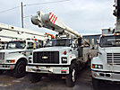 Altec AM855-MH, Over-Center Material Handling Bucket Truck, rear mounted on, 2001 Chevrolet C8500 Utility Truck