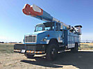 Altec AM855-MH, Over-Center Material Handling Bucket Truck, rear mounted on, 2004 Freightliner FL80 4x4 Utility Truck