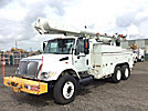 Altec AM855-MH, Over-Center Material Handling Bucket Truck rear mounted on 2003 International 7400 T/A Utility Truck
