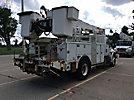 Altec AM855-MH, Over-Center Material Handling Bucket Truck rear mounted on 2004 International 4400 Utility Truck