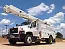 Altec AM855-MH, Over-Center Material Handling Bucket Truck rear mounted on 2006 Chevrolet C7500 Utility Truck