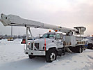 Altec AM900, Bucket Truck, rear mounted on, 2000 GMC C7500 Flatbed/Utility Truck
