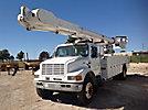 Altec AM900, Bucket Truck rear mounted on 2001 International 4700 Utility Truck