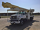 Altec AM900, Bucket Truck rear mounted on 2002 Chevrolet C8500 Flatbed/Utility Truck