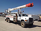 Altec AM900-E100, Double-Elevator Bucket Truck rear mounted on 1998 Sterling FT900 T/A Utility Truck