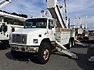 Altec AM900-E100, Elevator Bucket Truck, rear mounted on, 2004 Freightliner FL80 6x6 Utility Truck