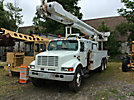 Altec AM900-E100, Over-Center Elevator Bucket Truck, rear mounted on, 2002 International 4900 T/A Utility Truck