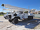 Altec AM900-P, Bucket Truck, rear mounted on, 1986 AM General Military 6x6 Flatbed/Utility Truck