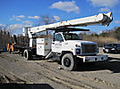 Altec AM900-P, Bucket Truck, rear mounted on, 1998 GMC C7500 Flatbed/Utility Truck