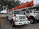 Altec AM900-P, Bucket Truck rear mounted on 1998 International 4900 T/A Utility Truck