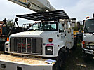 Altec AM900-P, Over-Center Bucket Truck, rear mounted on, 1998 GMC C7500 Utility Truck