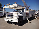 Altec AN650, Bucket Truck rear mounted on 1993 Ford F800 Utility Truck