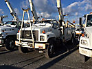 Altec AN652-MH, Material Handling Bucket Truck, rear mounted on, 2001 Chevrolet C8500 Utility Truck