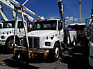 Altec AN652-MH, Material Handling Bucket Truck, rear mounted on, 2002 Freightliner FL70 Utility Truck