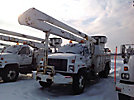 Altec AN755-P, Bucket Truck, rear mounted on, 2002 GMC C7500 Utility Truck