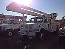 Altec AN755-P, Bucket Truck rear mounted on 2000 International 4800 4x4 Utility Truck